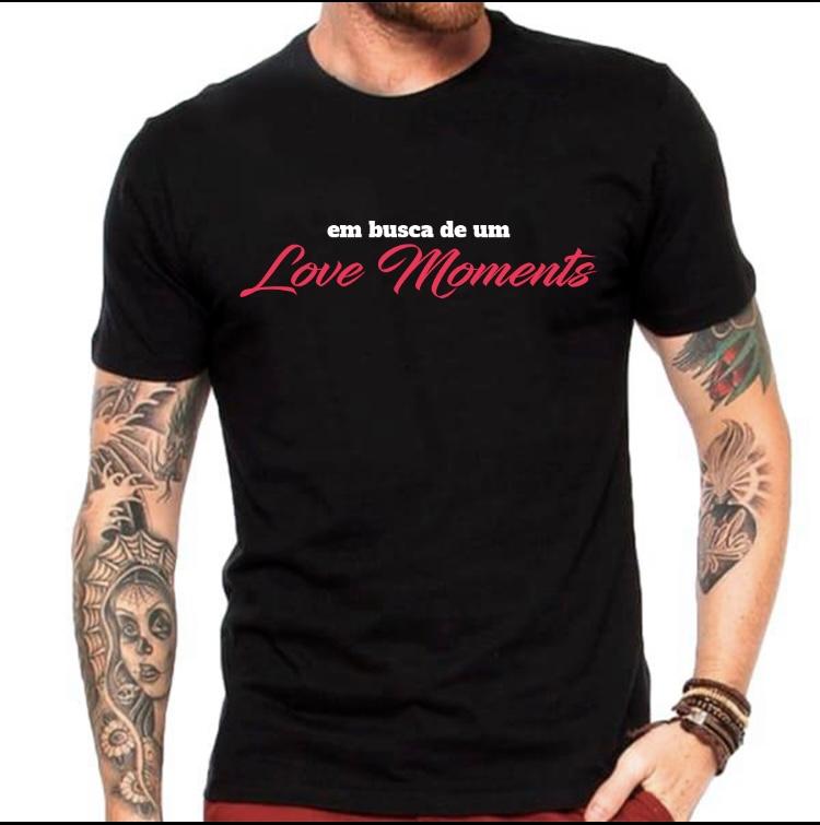 Camiseta Em busca de um love moments