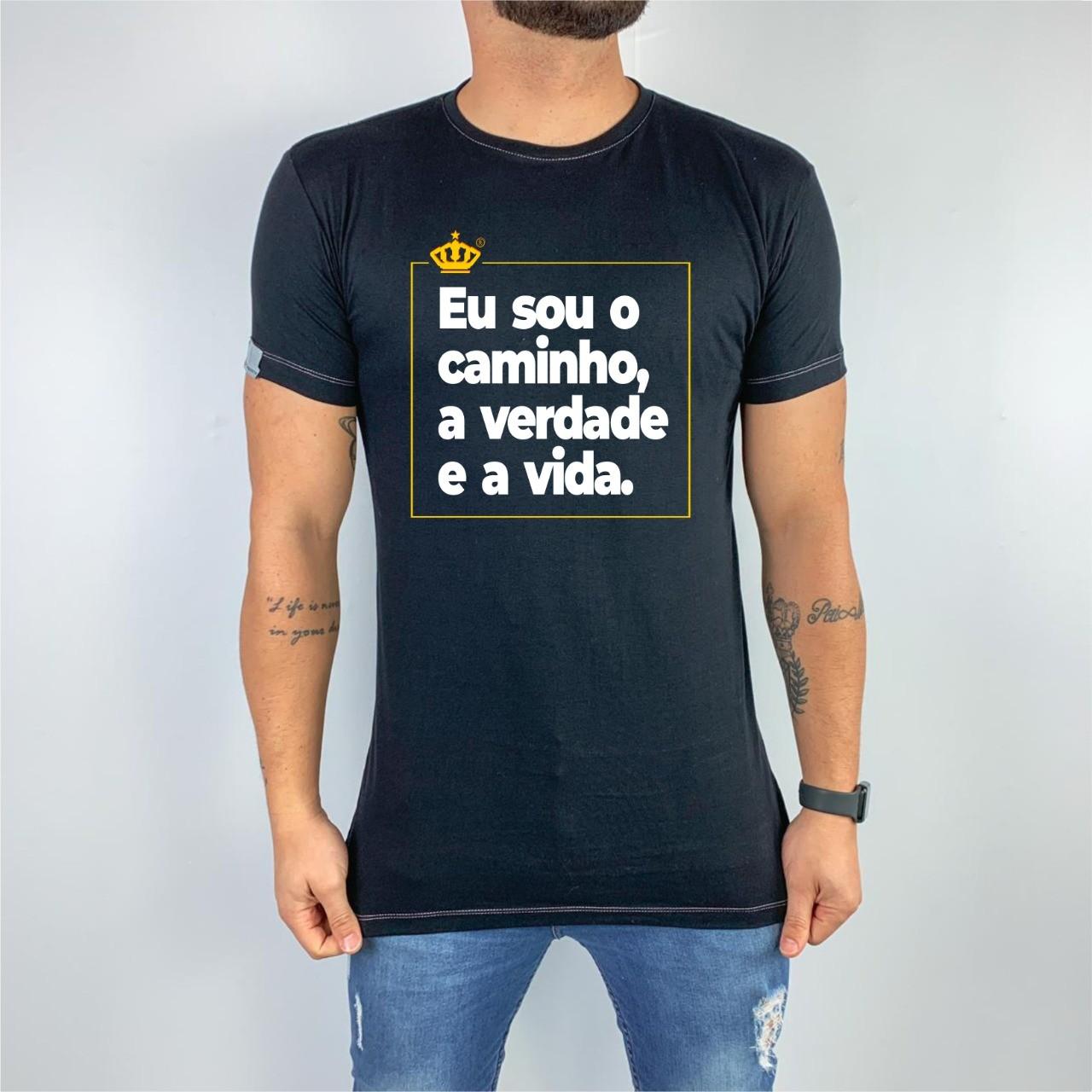 Camiseta Eu sou o caminho
