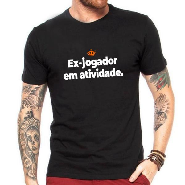 Camiseta Ex-jogador em atividade