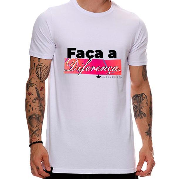 Camiseta Faça a diferença