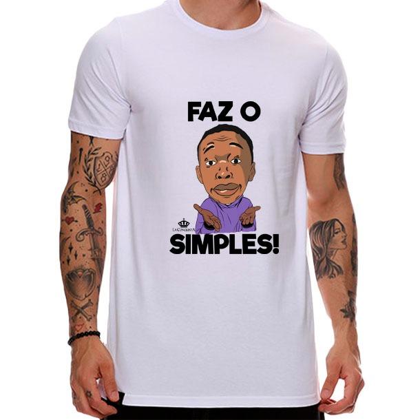 Camiseta Faz o simples
