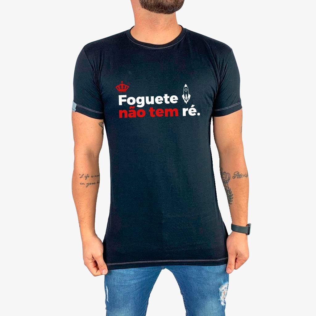 Camiseta Foguete não tem ré
