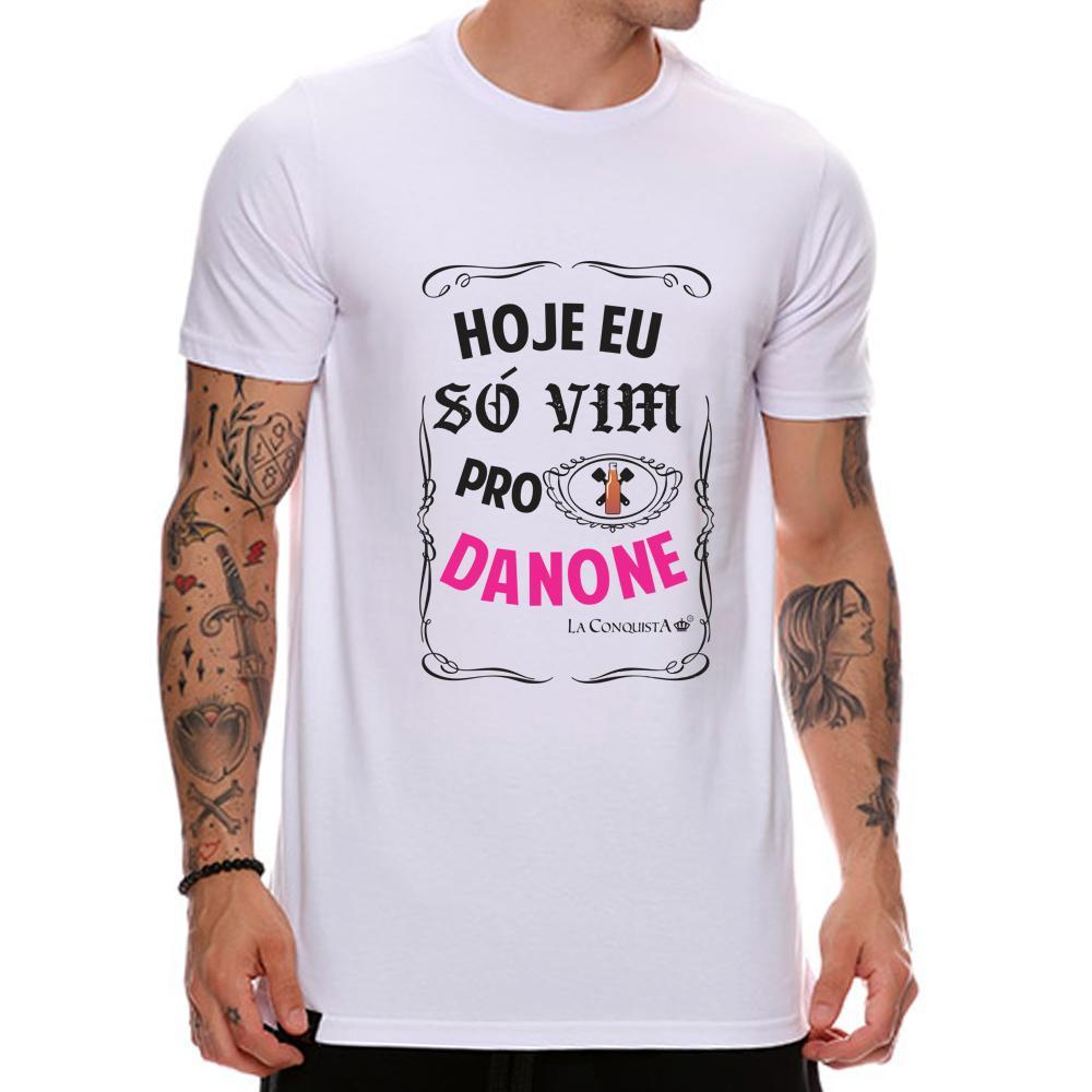 Camiseta Hoje eu só vim para o danone