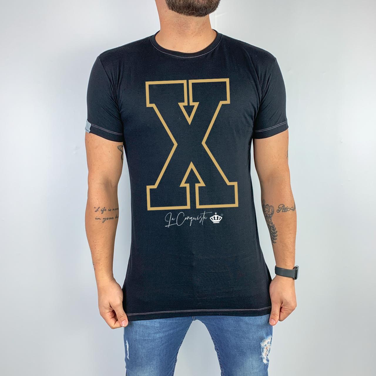 Camiseta Inicial X