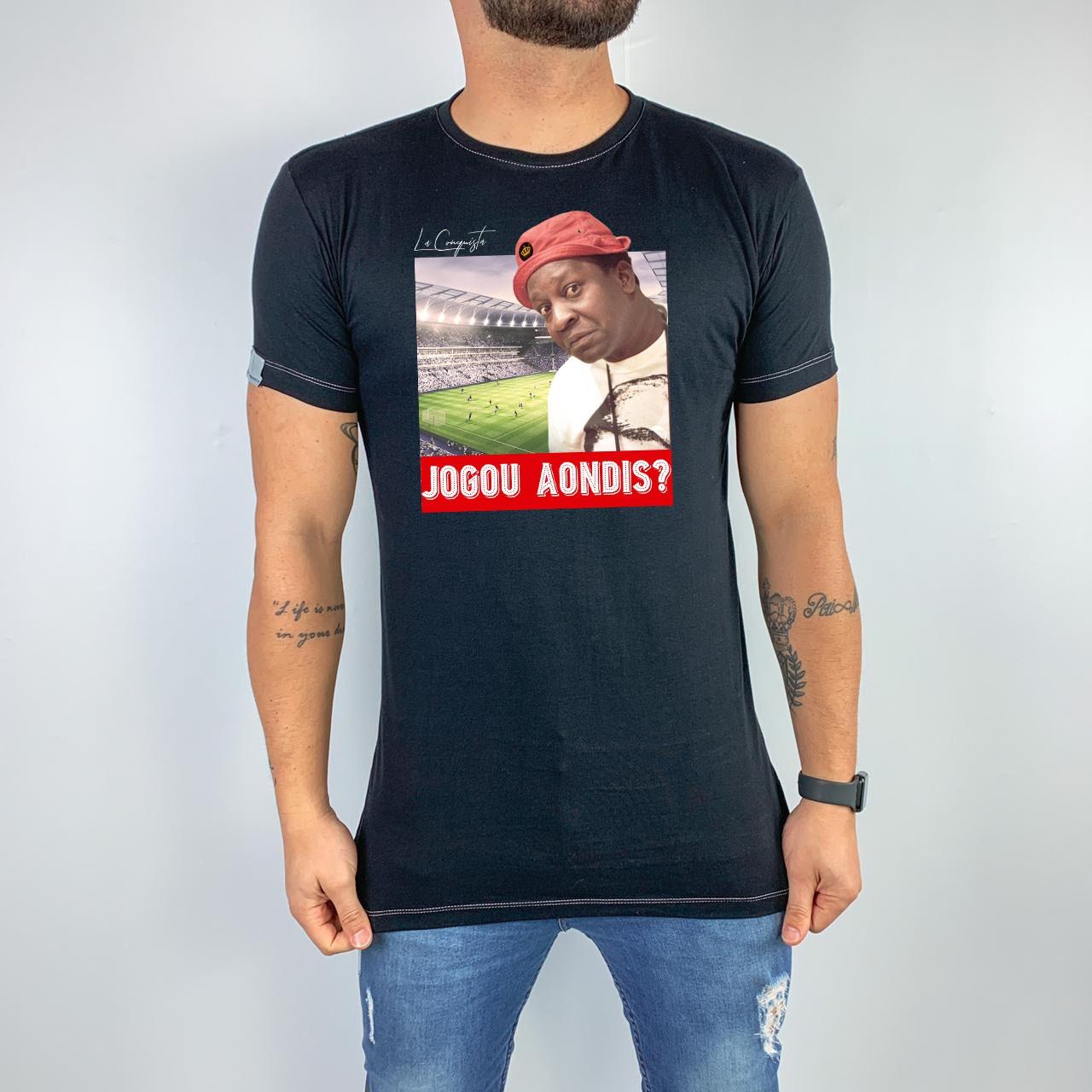 Camiseta Jogou Aondis?