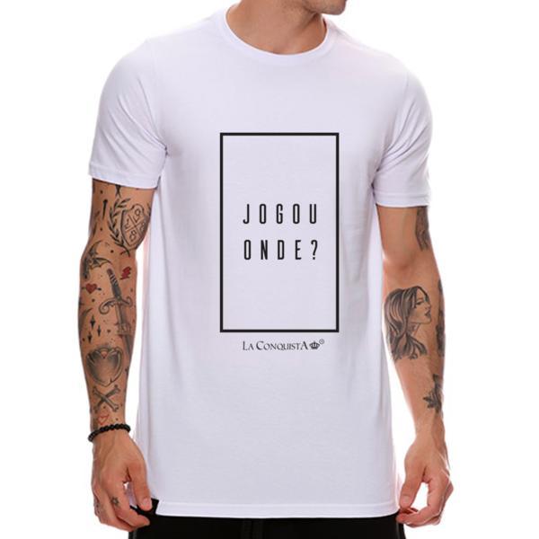 Camiseta Jogou onde?