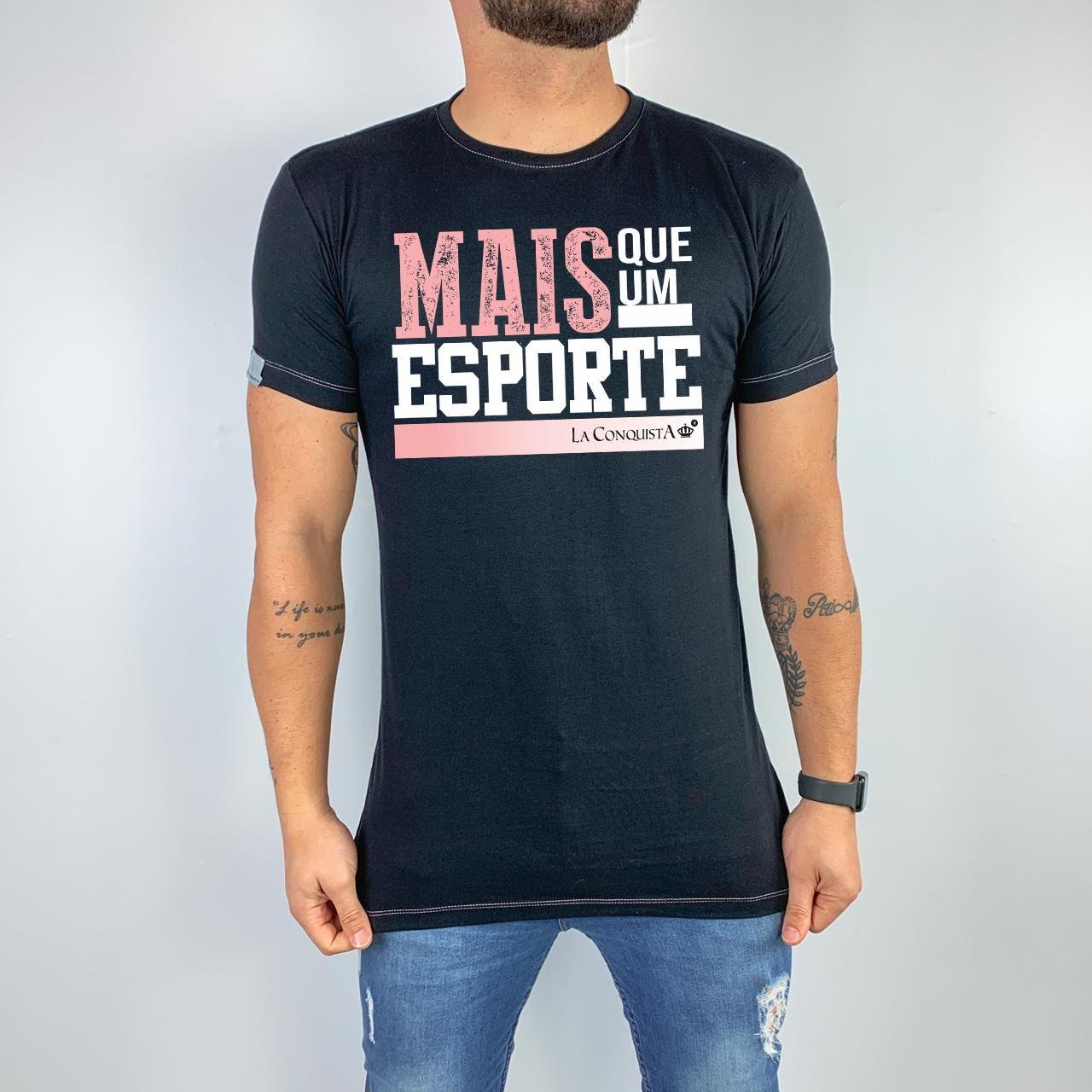 Camiseta Mais que um esporte