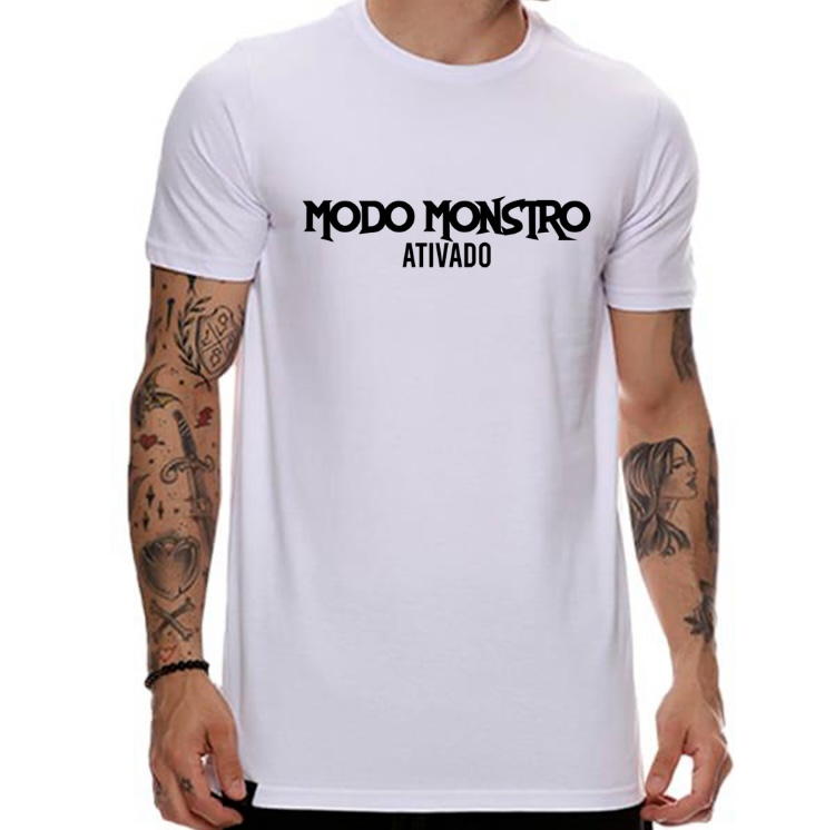 Camiseta Modo monstro ativado