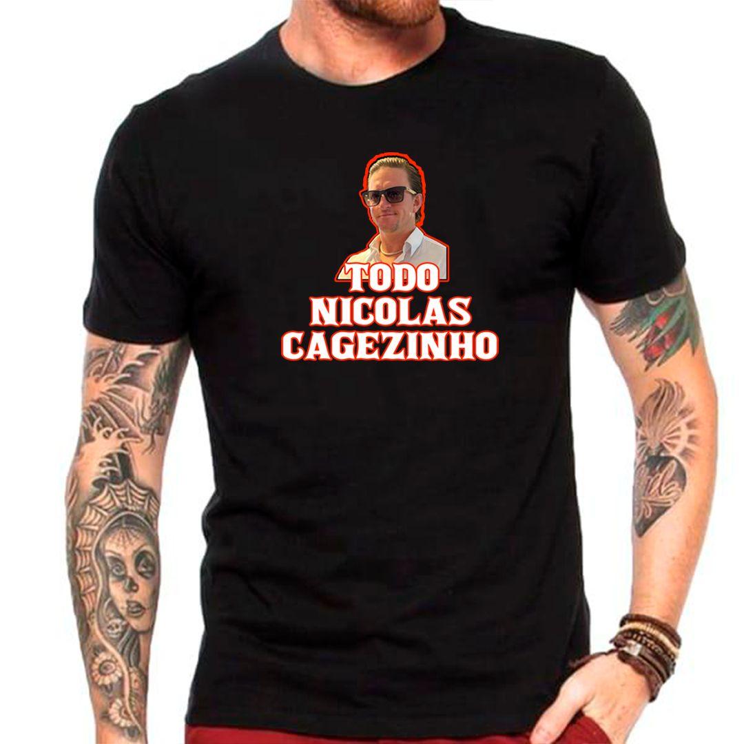 Camiseta Nicolas Cagezinho Edição Especial
