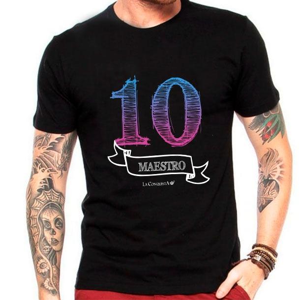 Camiseta Número 10