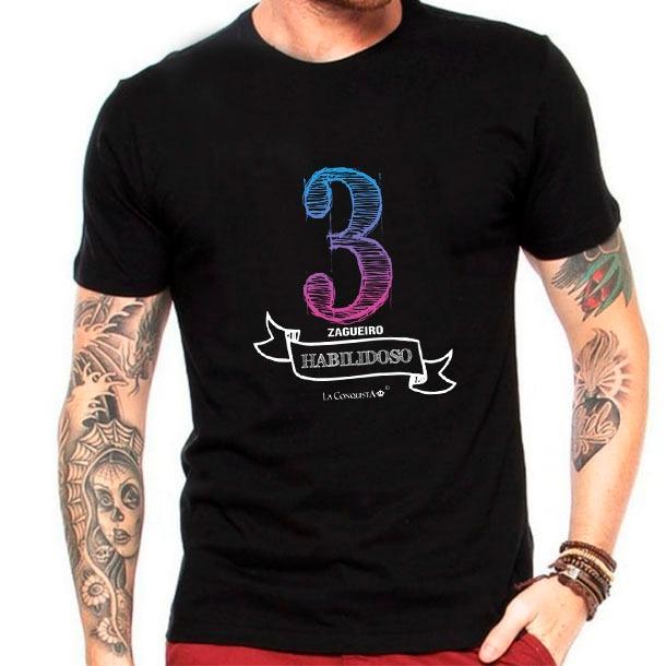 Camiseta Número 3