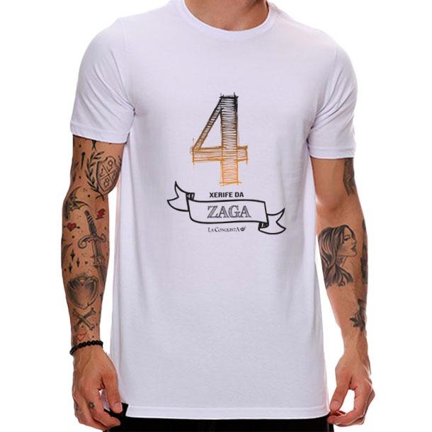 Camiseta Número 4