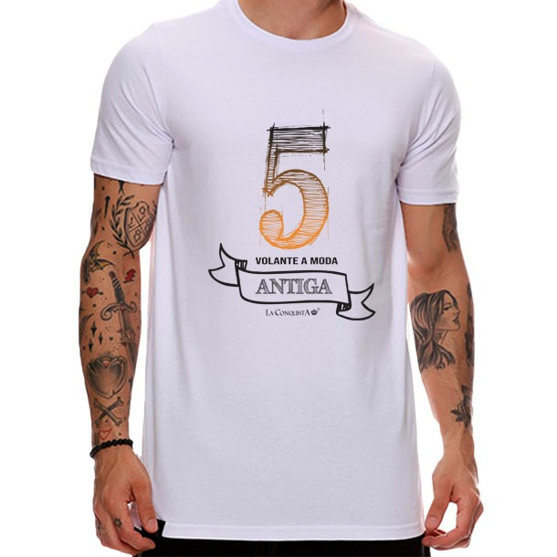 Camiseta Número 5