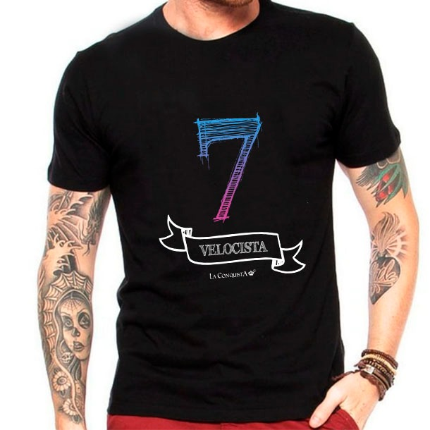 Camiseta Número 7