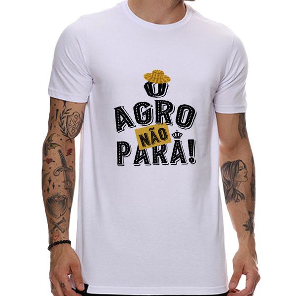 Camiseta O agro não para