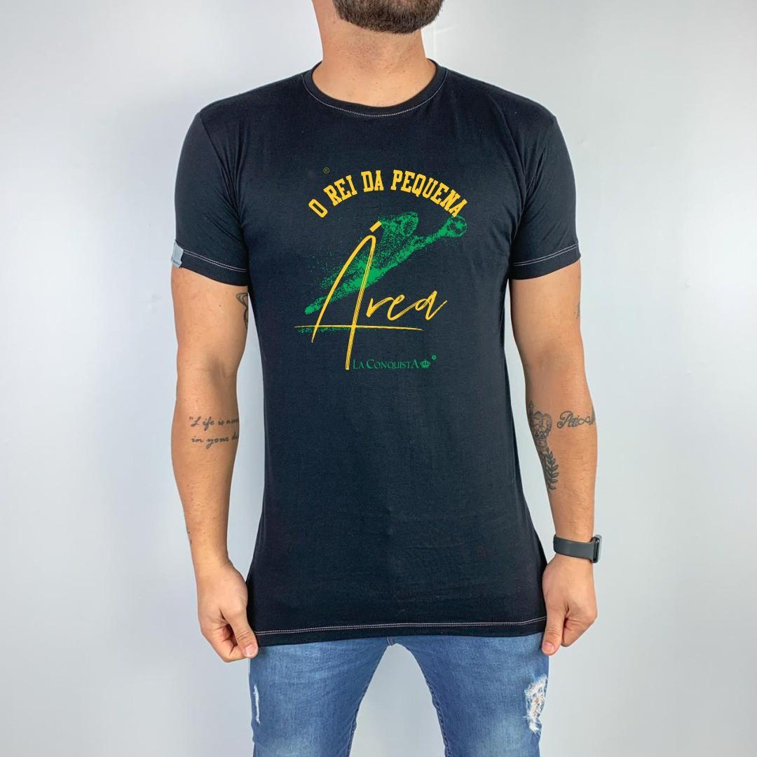 Camiseta O rei da pequena área