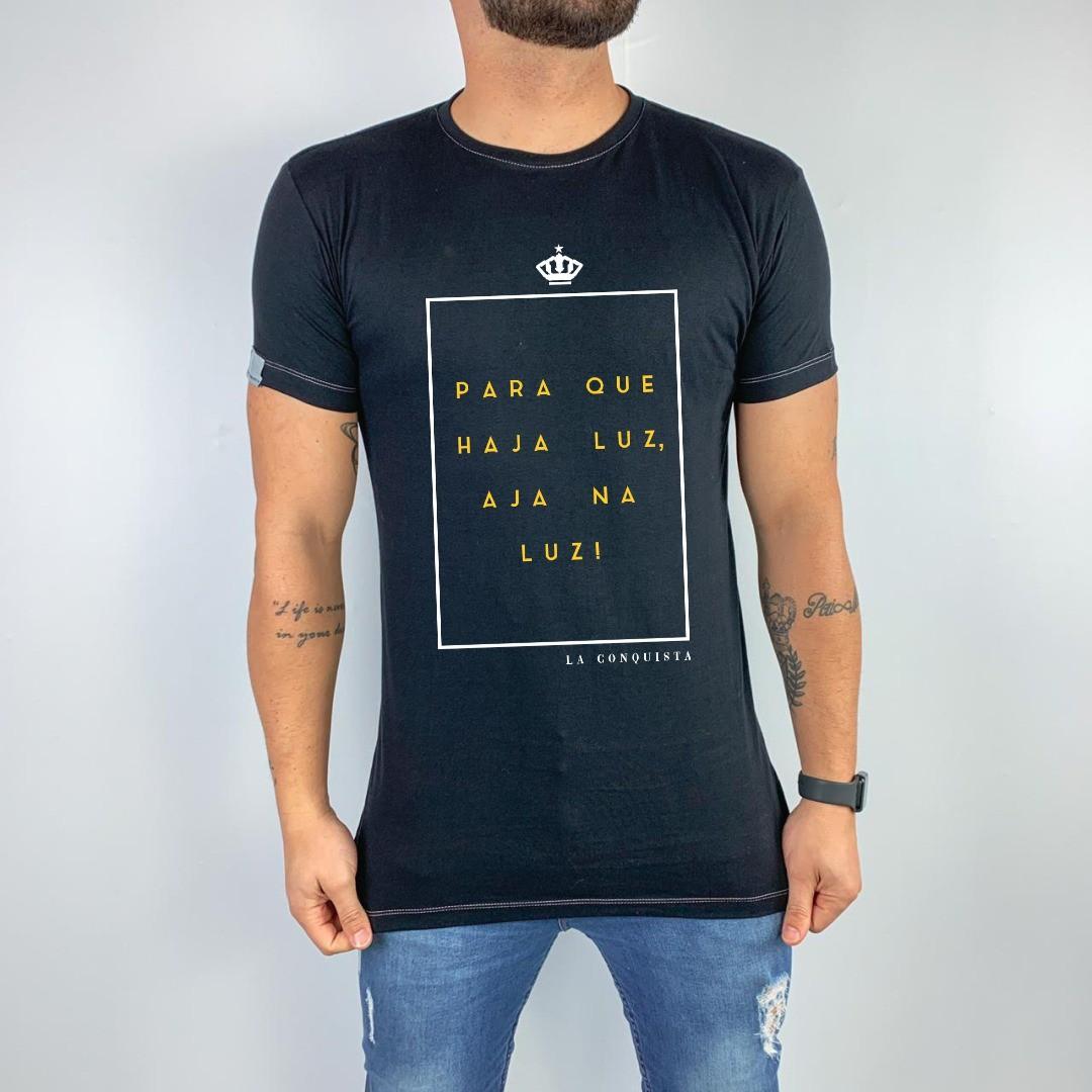 Camiseta Para que haja luz
