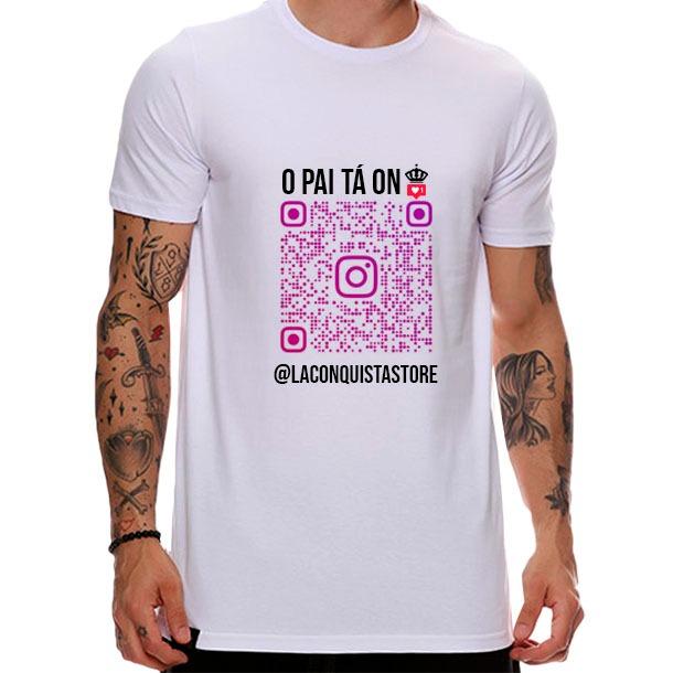Camiseta QR Code Instagram