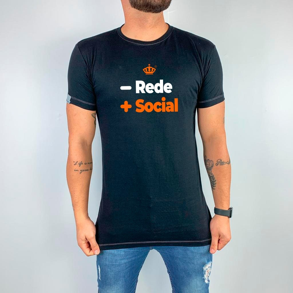 Camiseta - Rede + social