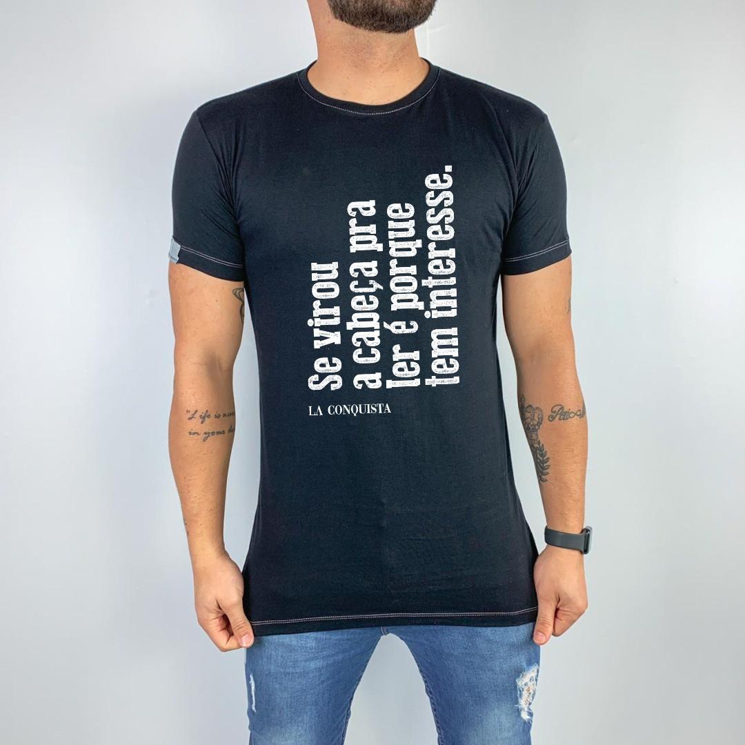 Camiseta Se virou a cabeça pra ler