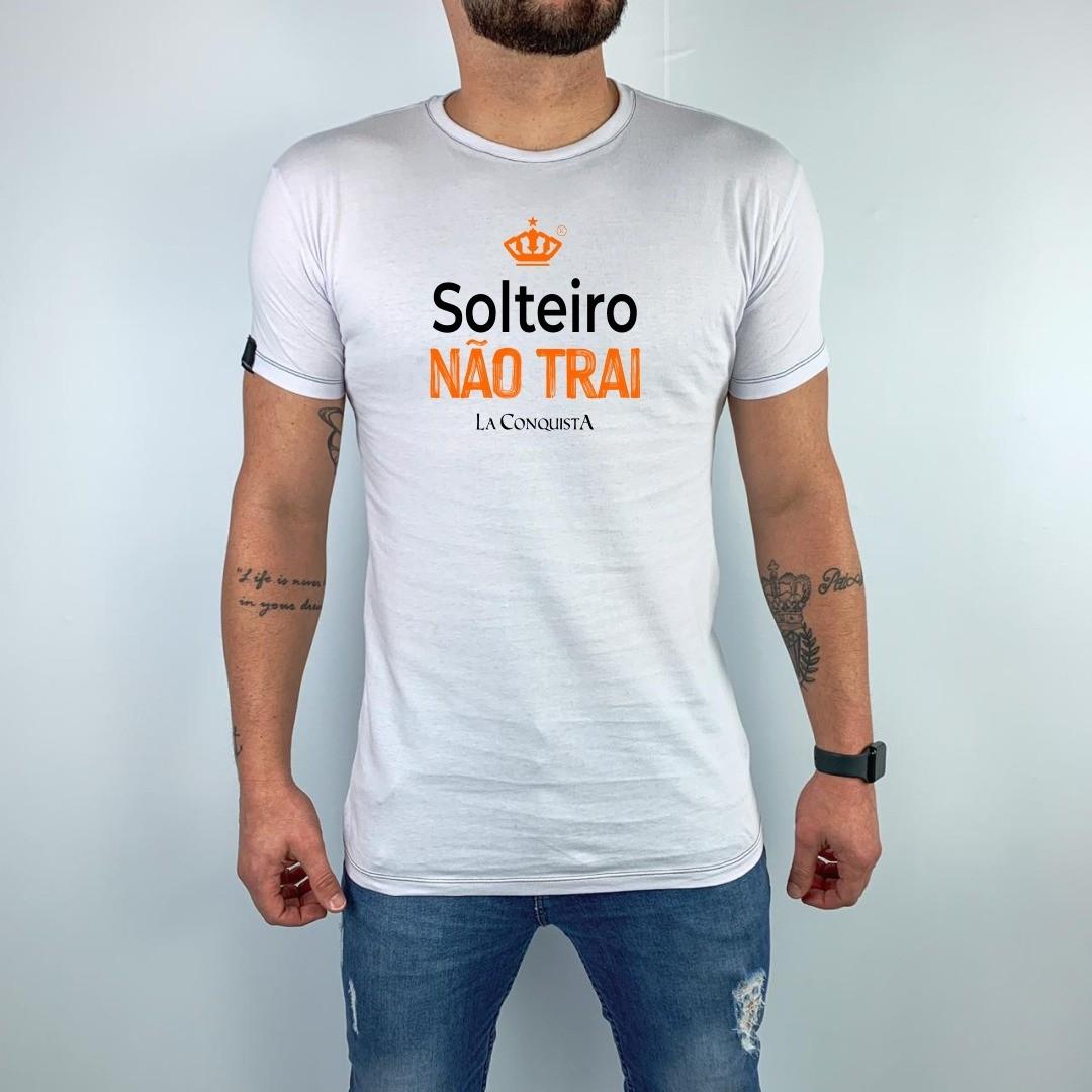 Camiseta Solteiro não trai