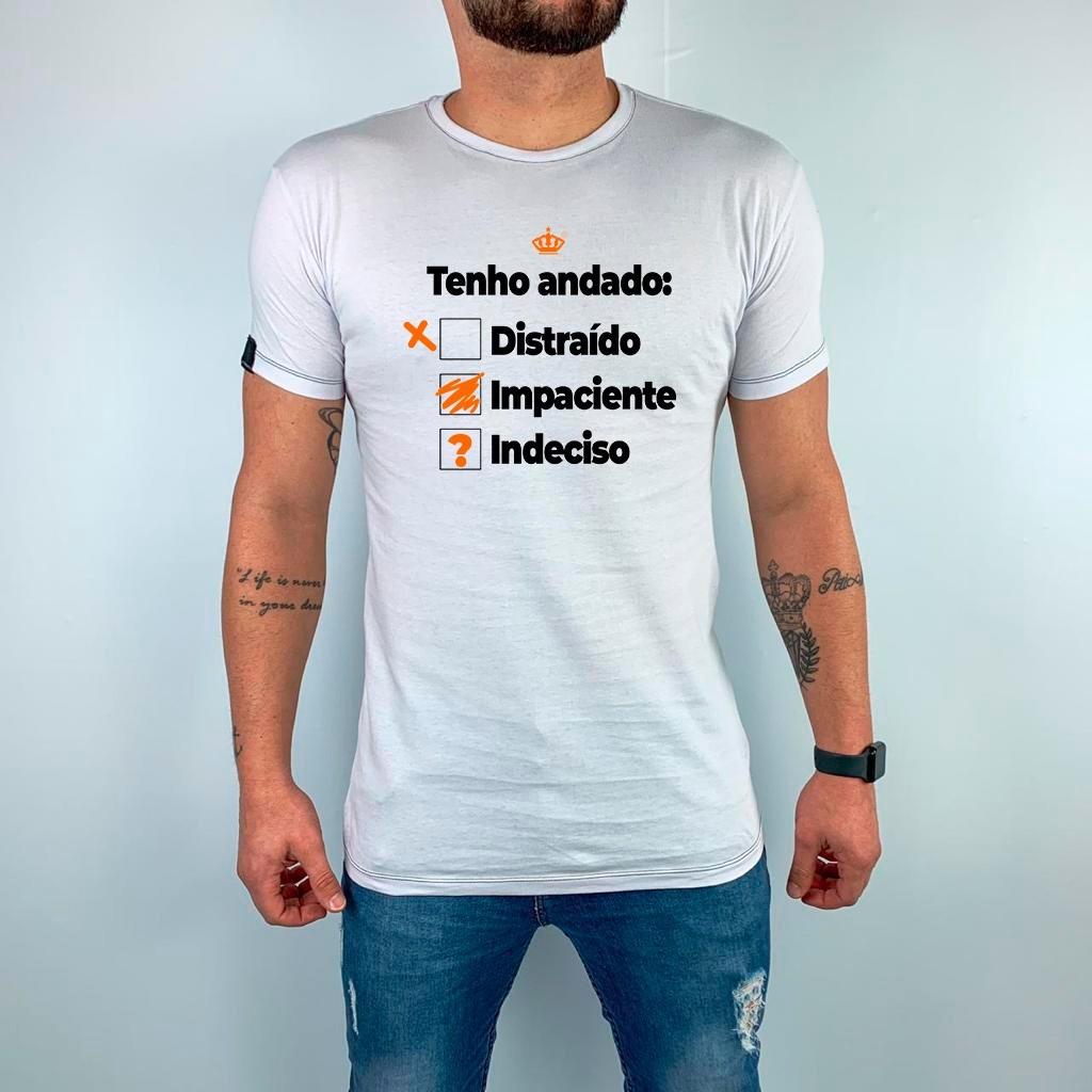 Camiseta Tenho andado