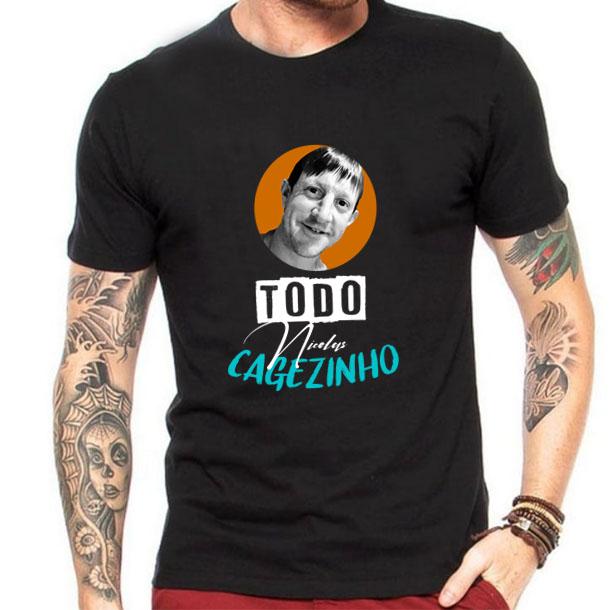Camiseta Todo Nicolas Cagezinho
