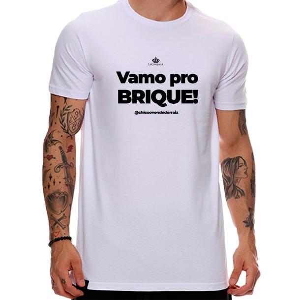 Camiseta Vamo pro brique?