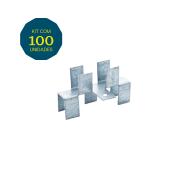 Junção H - Pacote 100 Peças