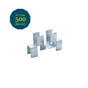 Junção H - Pacote 500 Peças