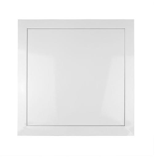 Alçapão De Metal Com Tampa Para Drywall 40 X 40 cm  - Branco