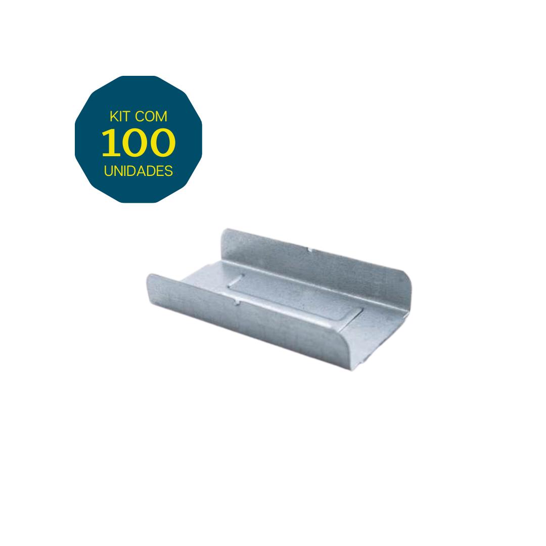 Emenda U - Pacote 100 Peças