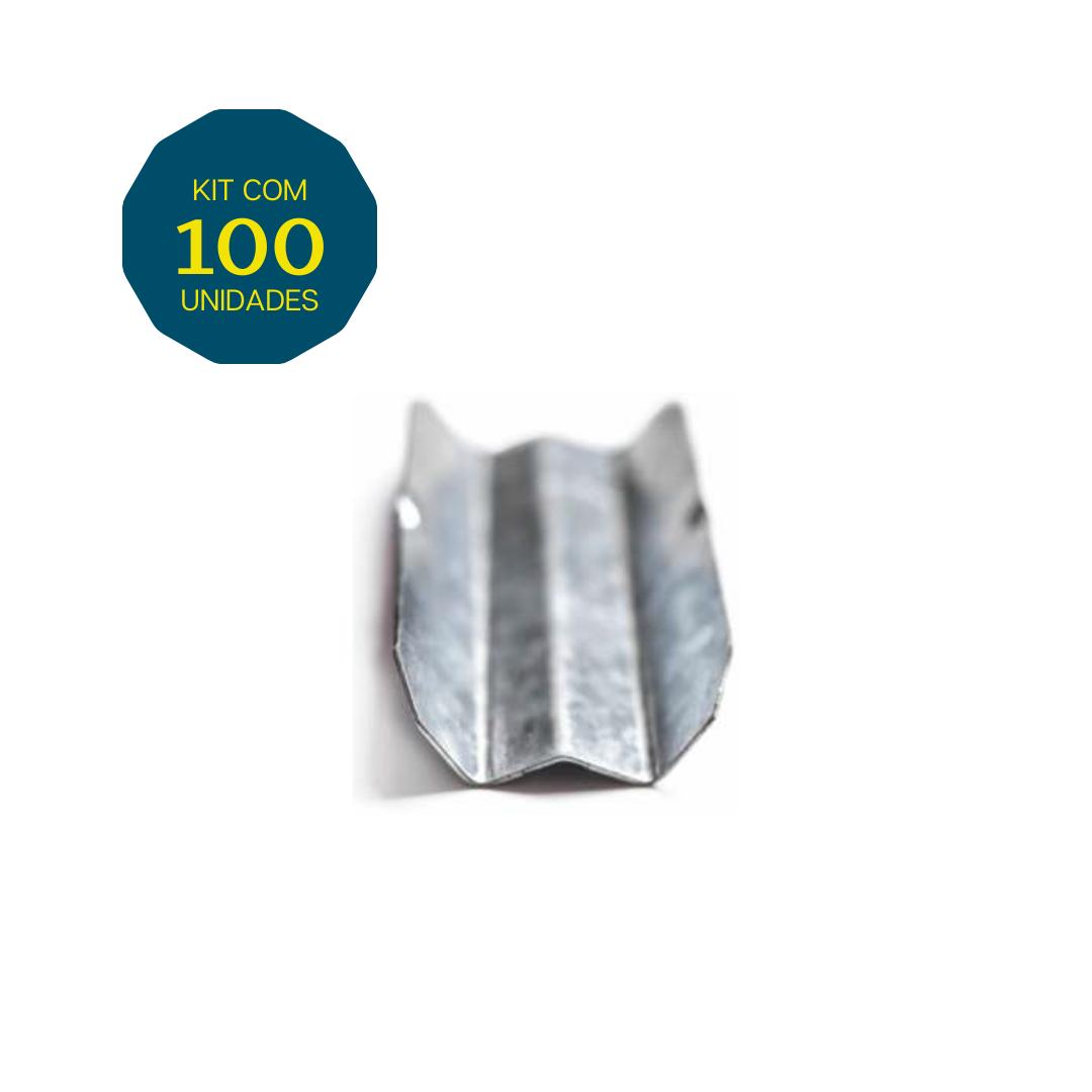 Emenda W - Pacote 100 Peças