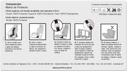 CAPA BANCO BAIXO COURINO  LISO - PICAPE - PICK UP - 2 TOUCAS - FIORINO - SAVEIRO - MONTANA - E OUTRO