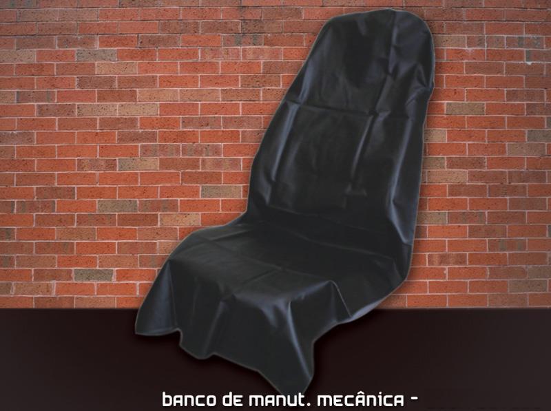 CAPA DE BANCO PARA MANUTENÇÃO MECÂNICA