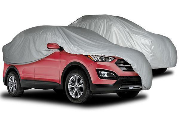 CAPA PARA CARRO COM CADEADO - SUV - PICK-UP - VAN - FORRO TOTAL / IMPERMEÁVEL - TAM. XG - XGG - EXGG