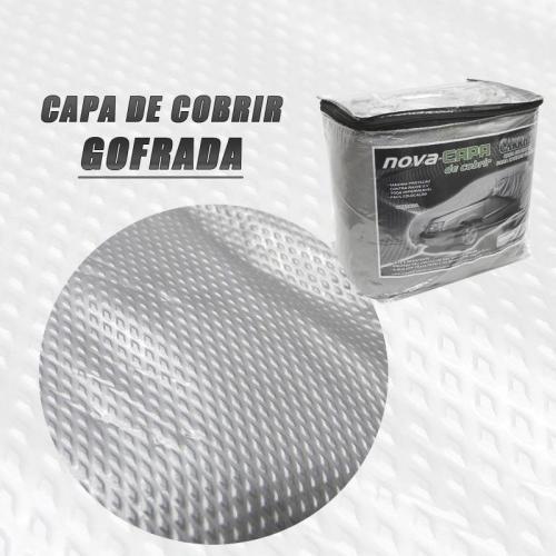 CAPA PARA CARRO - GOFRADA - FORRO TOTAL  / IMPERMEÁVEL - P - M - G - GG