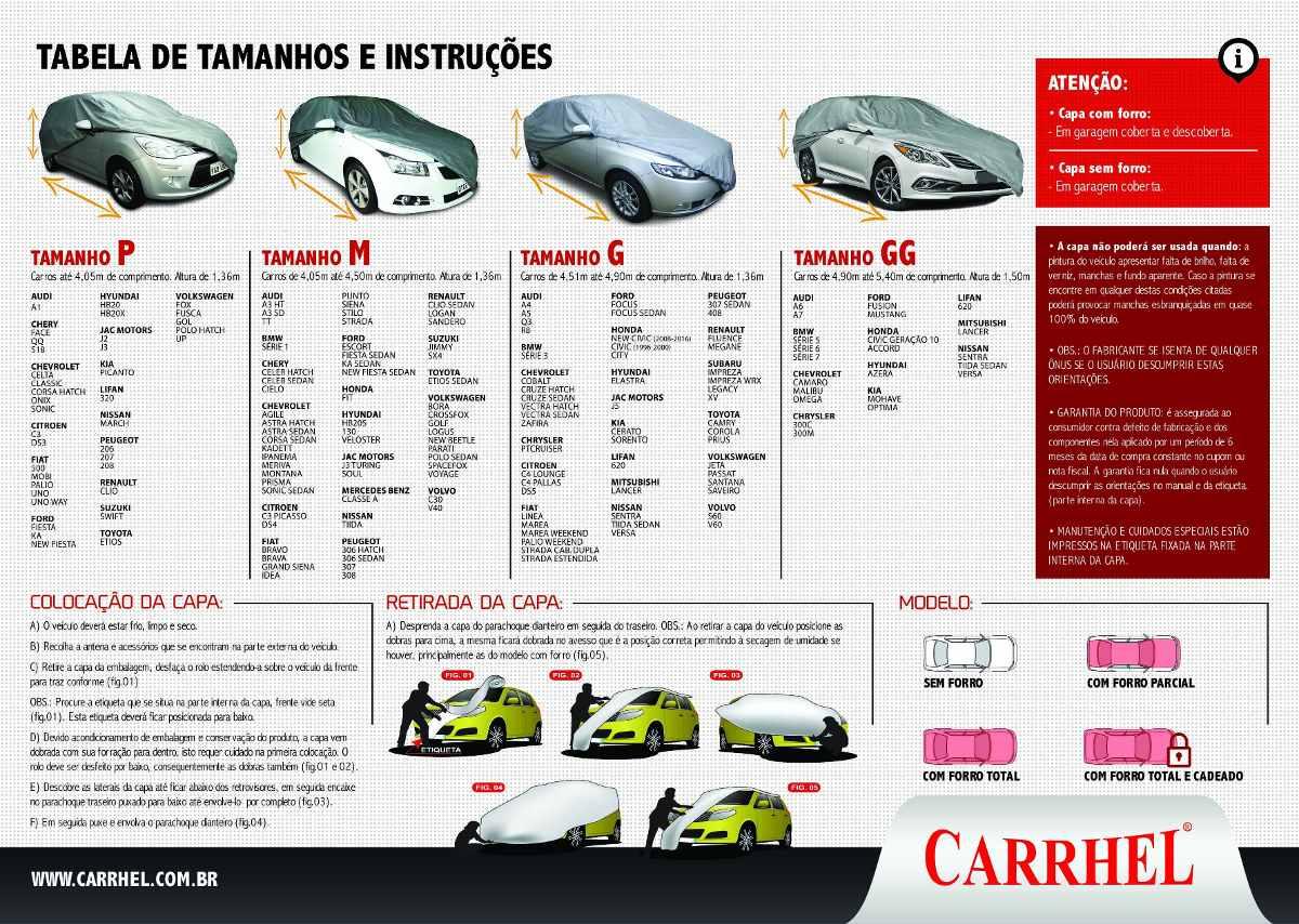 CAPA PARA COBRIR CARRO EM COURO ECOLOGICO - PREMIUM - FORRO TOTAL  / IMPERMEÁVEL - P - M - G - GG