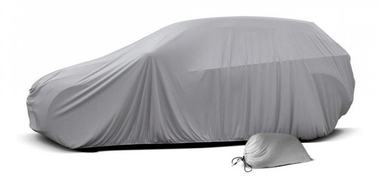 Capa Para Cobrir Carro Em Helanca Lycra Tecido Tam. P M G Gg Permeavel e Garagem Coberta
