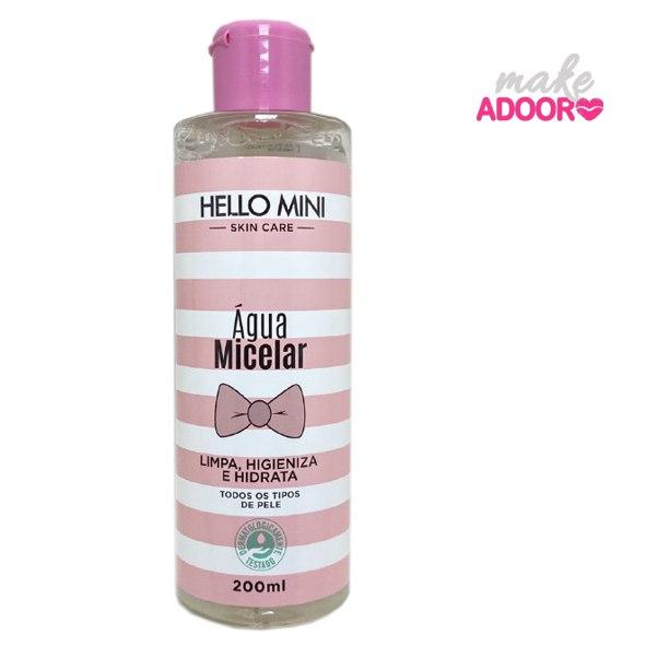 Água Micelar Hello Mini