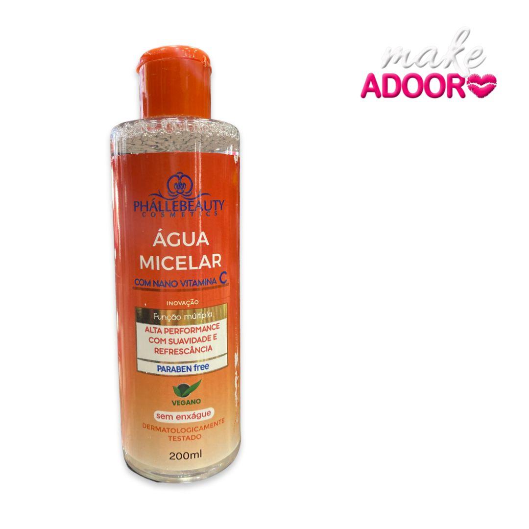 Água Micelar Vitamina C Phallebeauty