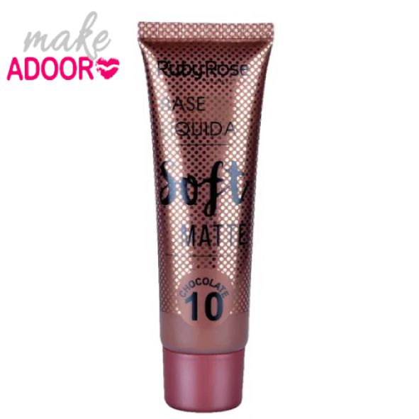 Base Líquida Soft Matte Ruby Rose Chocolate 10