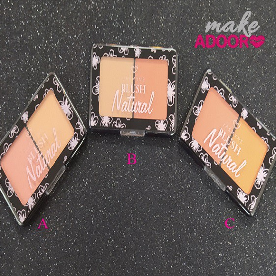 Duo Blush Natural Jasmyne