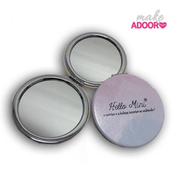 Espelho de bolsa hello mini