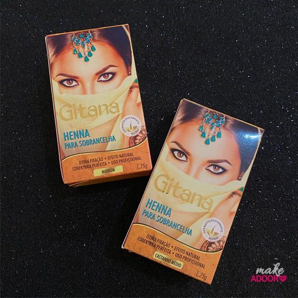 Henna para Sobrancelhas Gitana
