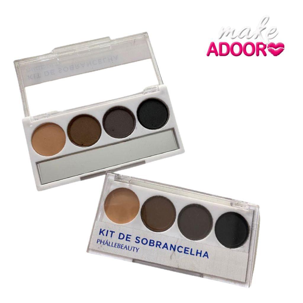 Kit de Sobrancelha Phallebeauty