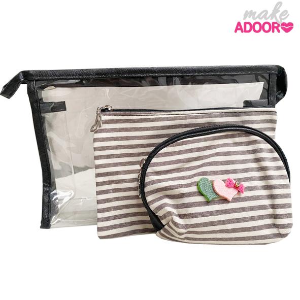 Kit Necessaire Make Adooro 03 Und