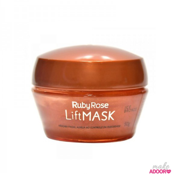 Máscara Facial Hidratante LiftMask Bronze Ruby Rose