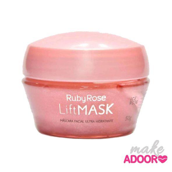 Máscara Facial Hidratante LiftMask Ice Rose Ruby Rose