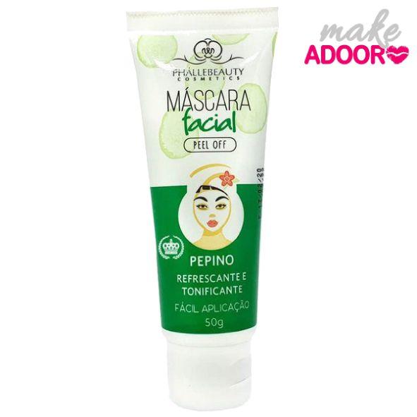 Máscara Facial Pepino Phallebeauty